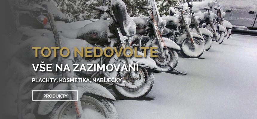 VŠE PRO ZAZIMOVÁNÍ - MotoNero.cz